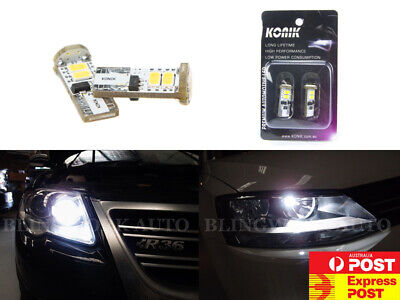 KONIK K04 T10 CANBUS WHITE LED Parker light W5W 6000k Light for VW GTI R32 R36
