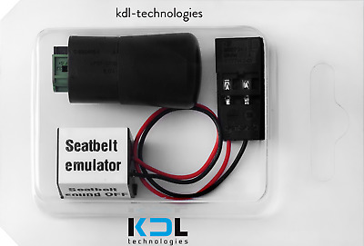PASSENGER SEAT OCCUPANCY BYPASS MAT SENSOR for BMW E60 E61 + SEAT BELT SIMULATOR