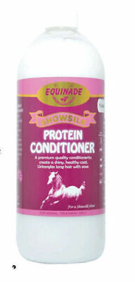 Equinade Showsilk Protein Conditioner Horses Dogs Cats Birds concentrated 1lt