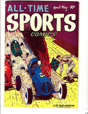 All-Time Sports, V1, #4 (1949): FREE to combine- in Very Good condition