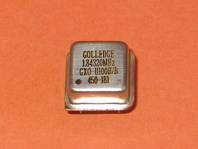 1.84320MHz  GOLLEDGE SQUARE CRYSTAL PACKAGE   QTY = 1
