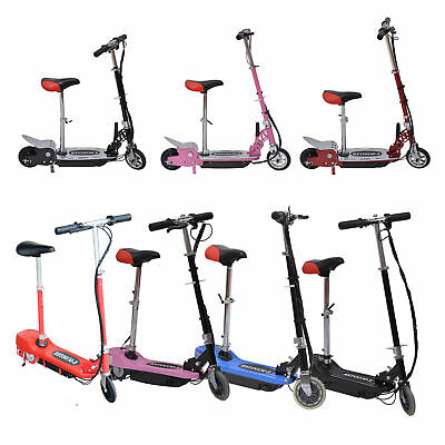 HOMCOM Electric E Scooter Scooters Ride on Battery 24V Kids Outdoor Sports NEW