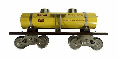 McCoy 1000-77 TCA Train Standard Scale Yellow Special Water Tank 1954 1977 2-83