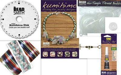 Kumihimo Starters Kits - Everything you need in One pack !!!!
