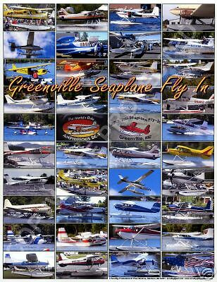 Greenville Seaplane Fly In Poster - Various Aircraft
