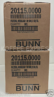 Bunn 2000 Paper Regular Coffee Filters for 12-Cup Commercial Brewers