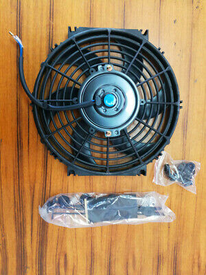 10 inch 12V volt Electric Cooling Fan  Thermo Fan +Mounting kits