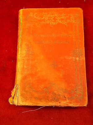 "Rare Old Vtg Antique 1895 Book ""readings & Recitations For Winter Evenings"""