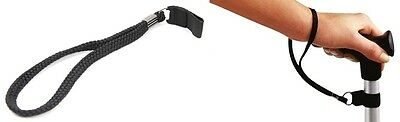 Easy to Fit Walking Stick Cane Wrist Strap Cord Loop Disability Aid