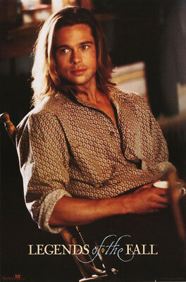 Poster :movie Repro: Legends Of The Fall - Brad Pitt - Free Ship #2776 Rc54 F
