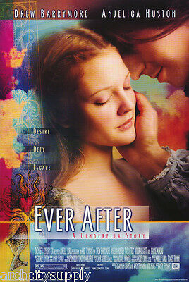 Poster : Movie Repro:  Ever After  - Drew Barrymore Free Ship -  #24-869  Rp72 S