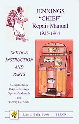 "Jennings ""Chief"" Repair Manual 1935-1964"