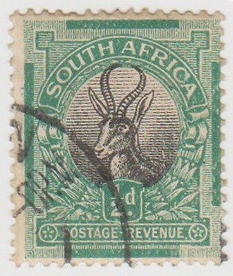 (RSA58)1926 SouthAfrica ½d green &black (South)(C)ow42