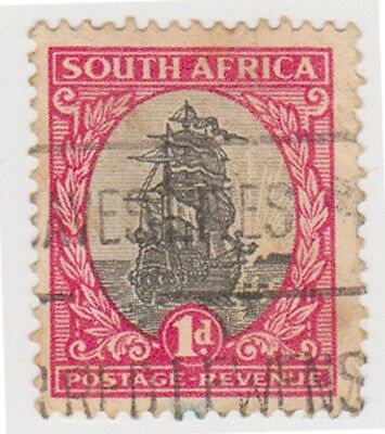 (RSA64)1926 South Africa 1d red & black (south) (C)ow47