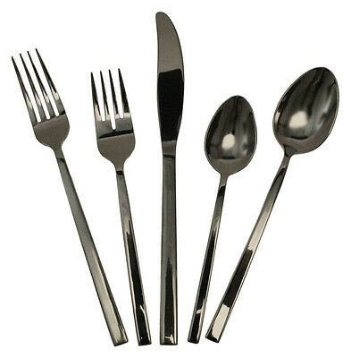 Flatware Pattern Mod 18/8 SS 12 5pc Place Settings (60 Pieces)
