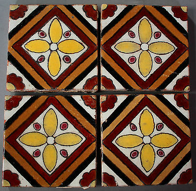 4 Genuine Salvaged 1920s California Tile Malibu Fits In Mission Spanish Revival