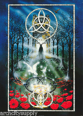 Poster:fantasy: Song Of Amerghin -   Free Shipping ! #po7023 Lw18 E