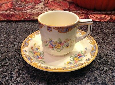 Grindley of England Demitasse Expresso Cup and Saucer *LOOK*