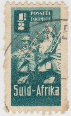(RSA234)1942South Africa ½d green infantry(South)F)ow97
