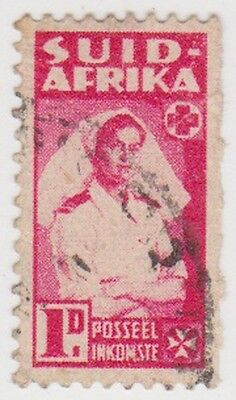 (RSA241) 1942 South Africa 1d red nurse (A(South) ow99