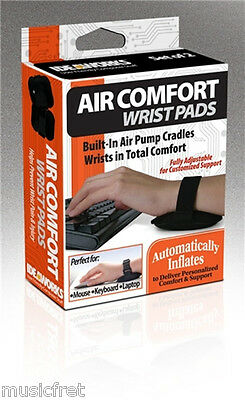 Air Comfort Wrist Pads, Great For Mouse Or Keyboard Use, Help Relieve Wrist Pain