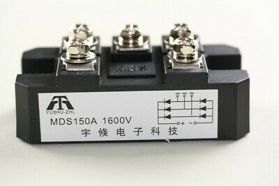 1x MDS150A 3-Phase Diode Bridge Rectifier 150A Amp 1600V Power USA