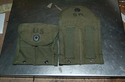 2 Post WWII US Army Mint M1 Carbine pouches