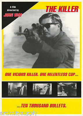 Poster: Movie Repro: The Killer  - Free Shipping -  Lc13 B