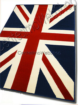 TAPPETO MODERNO 120x170 CAMERETTA CAMERA UFFICIO IDEA REGALO UK LONDON 9PUK120