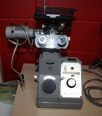 Olympus Tokyo MG metallurgical microscopy metal inverted microscope box lenses