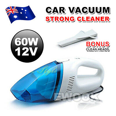 OZ Car Auto Vehicle Vacuum Cleaner Portable Handheld Wet & Dry 12V