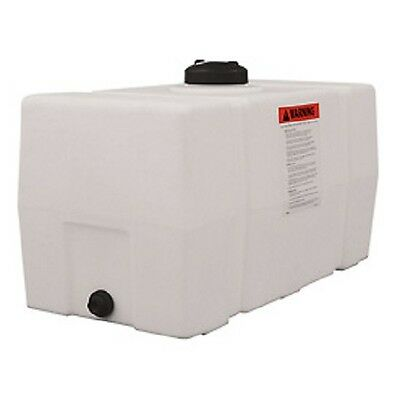 NEW! RomoTech 50 Gallon Plastic Storage Tank - Square End with Flat Bottom!!