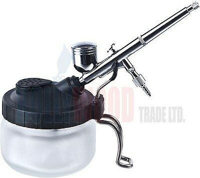 Airbrush Cleaning Station And Holder New
