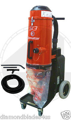 Ermator S13 HEPA Heavy Duty Dust Collector Vac 4 Concrete Grinder Pro vac