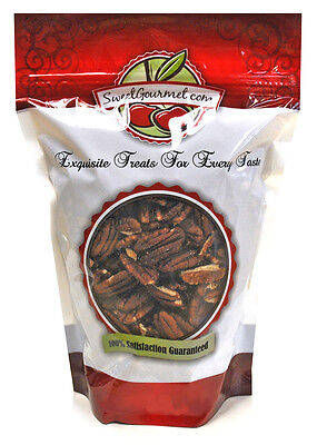 SweetGourmet Raw Pecans Halves Unsalted, 2Lb FREE SHIPPING!