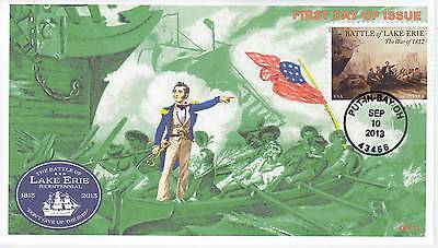 Jvc Cachets -2013 Battle For Lake Erie Issue #3 First Day Cover Fdc - L.e. 20 Ea