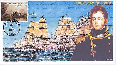 Jvc Cachets -2013 Battle For Lake Erie Issue #2 First Day Cover Fdc - L.e. 20 Ea