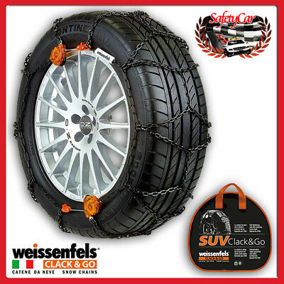 Weissenfels SUV RTS CLACK&GO Catene Neve Gruppo 9 - 1,3CM 225/55r19