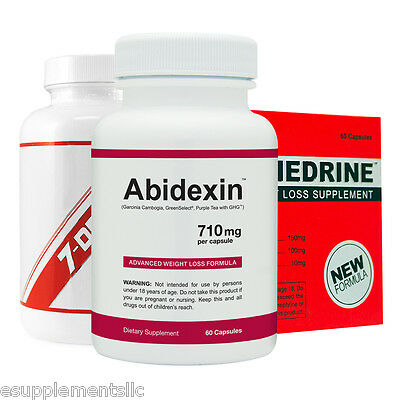 Diet Pills Top Sellers Kit - Abidexin, Phenphedrine and DX-7