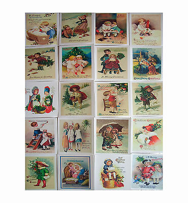 Christmas Cards multi pack - vintage,traditional