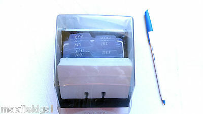 """Used Rolodex Petite S310C business Card File, 100 new cards ea 4""""x2.25"""", w/warra"""