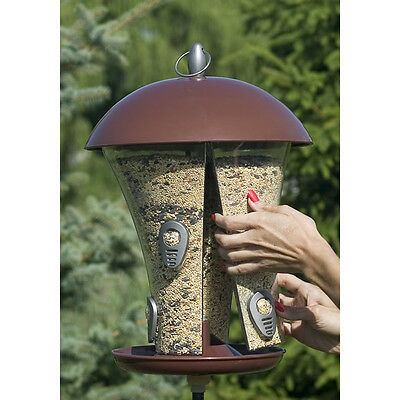 Perky-Pet Easy Fill Deluxe Seed Bird Feeder, 510