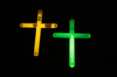 Glow Cross Necklace (50 pack)