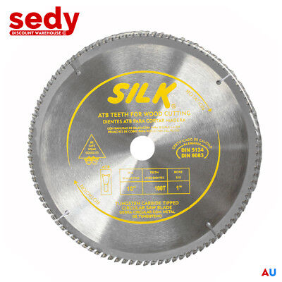 "10"" 250mm 100T Circular Saw Blade Round Cross Cutting Wood Timber Aluminium NEW"