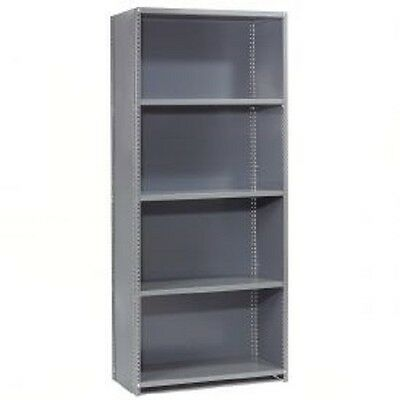 "NEW! Steel Shelving 20 Ga 36""Wx18""Dx73""H Closed Clip Style 5 Shelf!!"