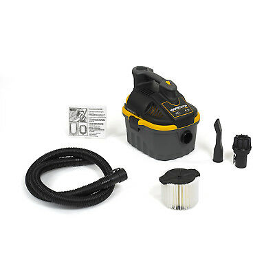 WORKSHOP Wet Dry Vacs WS0400VA 4-Gallon 5.0 Peak HP Portable Wet Dry Vacuum