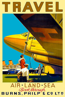 ART PRINT POSTER ADVERT EVENT SPOILS WAR BIPLANE EAGLE GERMANY NOFL1638
