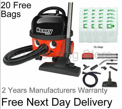 NUMATIC HENRY HVR200-22 Bagged Vacuum Cleaner FREE 2 YEAR WARRANTY