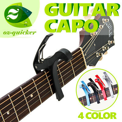 Guitar Capo Suits Electric & Acoustic Guitars Metal Curved Trigger 001