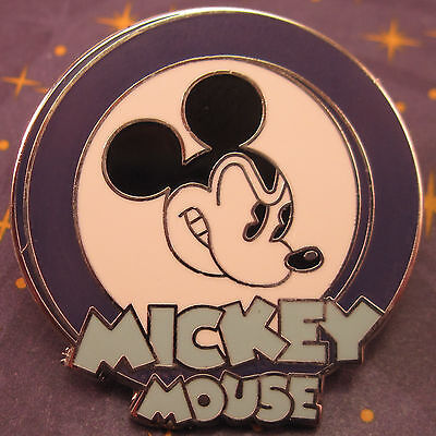 $2.99 Ships 1 to 100 DISNEY PINS Oh Mickey Mouse Circle Angry Expression Purple